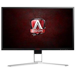AOC Agon AG241QX 24' Gaming Monitor, QHD 1440P, G-Sync Compatible + Adaptive-Sync, 144Hz, 1ms, Quickswitch Keypad, Vesa, 4Yr Zero Dead Pixel, 1Yr Accidental Damage