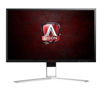 AOC Agon AG271QX 27' Gaming Monitor, QHD 2560x1440, Freesync, 144Hz, 1ms, DisplayPort/HDMI/DVI-D/VGA, Quickswitch Keypad, VESA