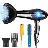 DFGOTOP 3000W Sèche-Cheveux Professionnel Ionique avec Diffuseur et...
