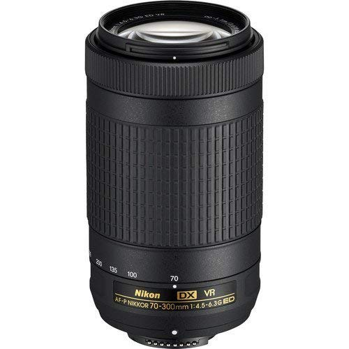 Nikon AF-P DX NIKKOR 70-300mm f/4.5-6.3G ED VR Lens for Nikon DSLR Cameras (Renewed)