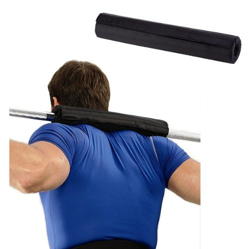 KOBO Barbell Gel Support Shoulder Pad Squat Olympic Bar Weight Lifting Pull Up Grip Home Gym