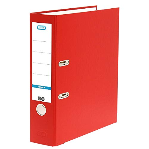 Elba 100202218 - Cartella Smart Original, A4, Rosso
