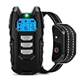 Flittor Dog Training Collar, Shock Collar for Dogs with Remote,