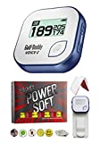 Golf Buddy Voice 2 Golf GPS/Rangefinder Bundle with 1 Dozen Volvik Golf Balls, 1 Belt Clip, 5 Ball Markers and 1 Magnetic Hat Clip