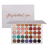Beauty Glazed Paleta De Sombras De Ojos Profesionales - Paleta Maquillaje - Altamente Pigmentados 35 Colores Brillantes y Mate