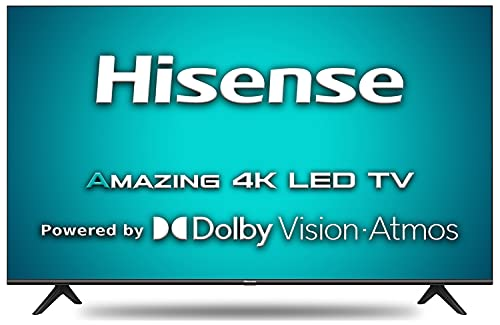 41ALuDXoGvS Hisense 139 cm (55 inches) 4K Extremely HD Sensible Licensed Android LED TV 55A71F (Black) (2020 Mannequin) | With Dolby Imaginative and prescient and ATMOS