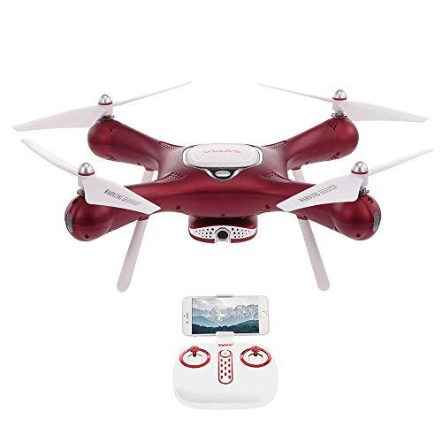 Goolsky Syma X25W Drone WiFi FPV Regolabile 720P Fotocamera Drone Flusso Ottico Posizionamento Altitude Hold RC Quadcopter