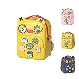ZBK Tide Mochila para bebé, diseño de dibujos animados, para niños, 3 colores, amarillo (Amarillo) - ZBK095