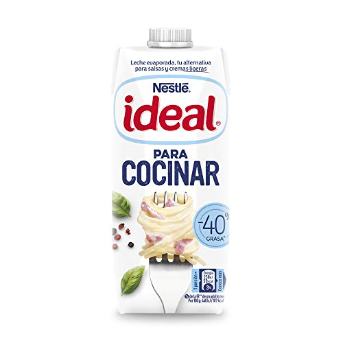 Nestlé Ideal - Leche Evaporada - 4 Paquetes de 490.6 ml