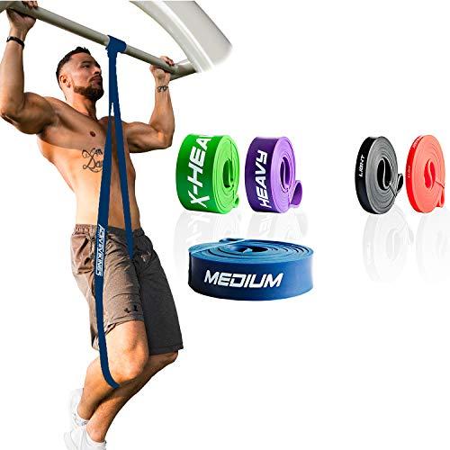 ActiveVikings - Fasce da fitness Pull-Up, perfette per lo sviluppo muscolare e per Crossfit...