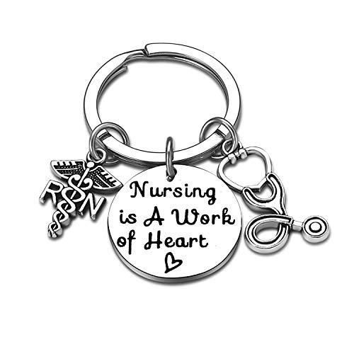 Nurse Gifts for Women Nursing Jewelry RN Nurse Keychain...