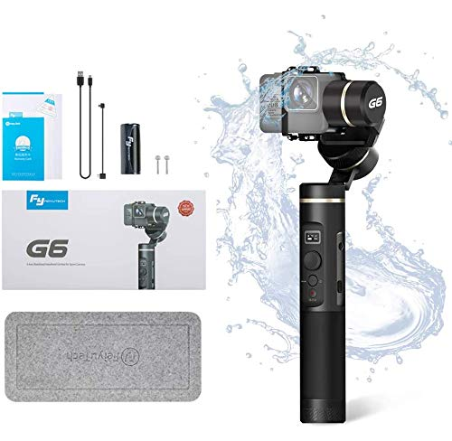 FeiyuTech G6 3-Axis Handheld Gimbal,Fits GoPro Hero 7/Hero 6/Hero 5/Hero 4/Hero 3/Sony RX0