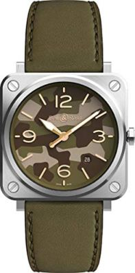 Bell & Ross Instruments Green Camo Men's Watch BRS-CK-ST/SCA