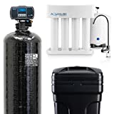 Aquasure Whole House Water Softener/Reverse Osmosis Drinking Water Filter Bundle (64,000 Grains)