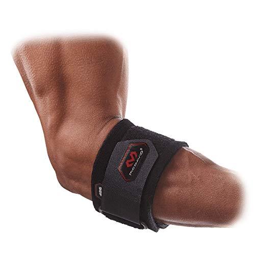McDavid Tennis Elbow Strap - Black (One Size)