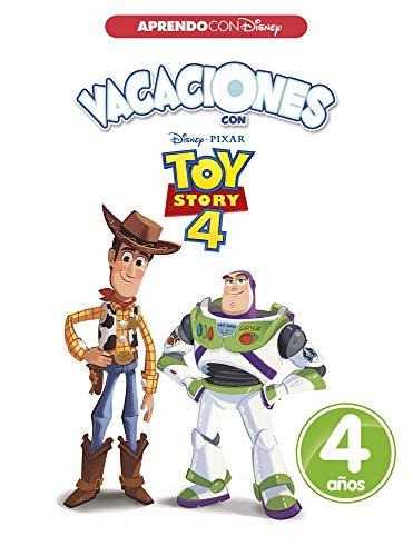 Vacaciones con Toy Story 4. 4 años (Aprendo con Disney)