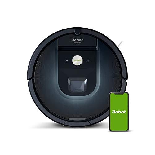 iRobot Roomba 981, aspirateur robot, idéal pour les tapis avec forte puissance d'aspiration, avec...
