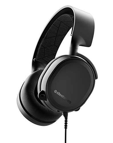 SteelSeries Arctis 3 - All-Platform Gaming Headset - for PC, PlayStation 4, Xbox One, Nintendo Switch, VR, Android, and iOS - Black