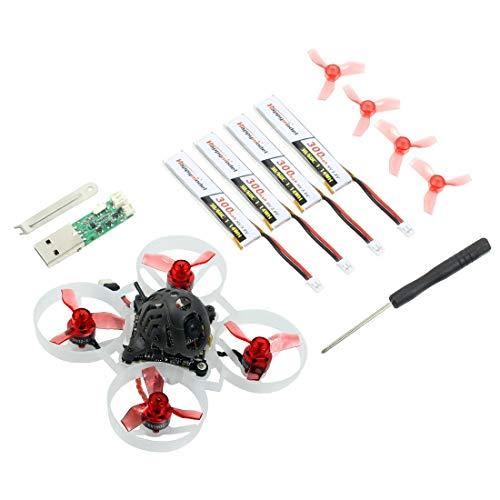Happymodel Mobula6 1S 65mm Brushless Whoop Drone Mobula 6 BNF AIO 4IN1 Crazybee F4 Lite Regolatore di volo incorporato VTX RC Toy (19000KV,Frsky RX)