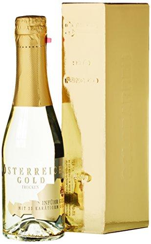 Österreich Gold - mit 23 Karat Blattgold mit Geschenkverpackung (1 x 0.2 l)