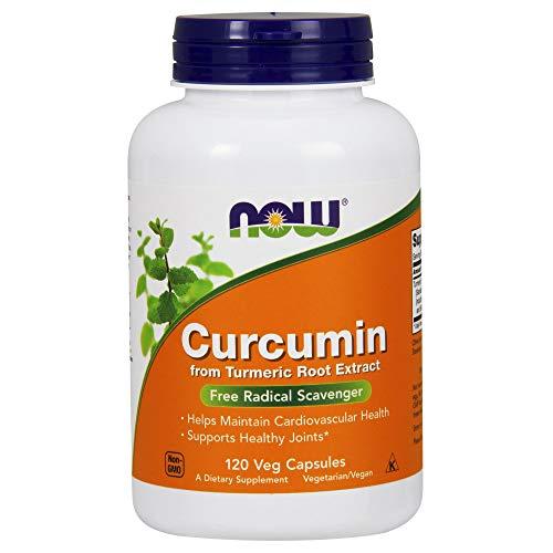 Now Foods   Curcumin   120 vegane Kapseln   glutenfrei