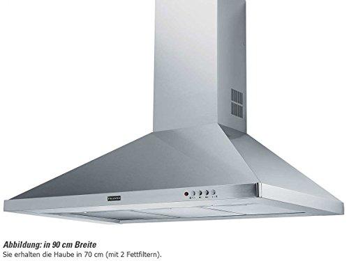 Franke FDL 764 XS 420 m/h Cappa aspirante a parete Acciaio inossidabile E
