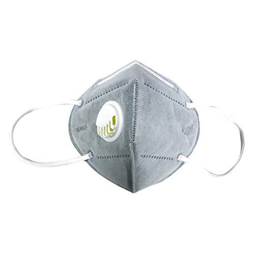 4 piezas No FFP3 -KN95 Protección facial desechable antipolvo, antivaho y antipolución