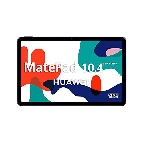 "HUAWEI MatePad 10.4 New Edition - Tablet de 10.4"" con Pantalla FullHD (WiFi 6, RAM de 4GB, ROM de 128GB, EMUI 10.0, Huawei Mobile Services)"