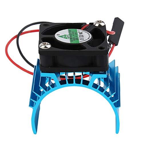 Libertroy Radiateur sans Brosse Durable de radiateur et Ventilateur refroidissant l'aluminium 550 540 3650 Taille Moteur d'évier de Couverture électrique pour Le modèle de RC HSP