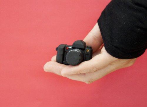 カメラ型USBメモリー (ソニーふう) 8GB