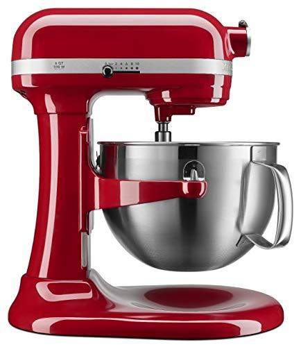KitchenAid KP26M9XCER 6 quart Bowl-Lift Professional Stand Mixer, Empire Red