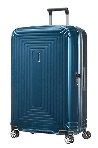 Samsonite Neopulse - Spinner L Valigia, 75 cm, 94 L, Blu (Metallic Blue)