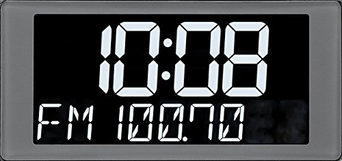 Product Image 5: Sangean RCR-20 FM-RDS (RBDS) AM / Bluetooth / Aux-in / USB Phone Charging Digital Tuning Clock Radio with Battery Backup, Black, 13.8x 13.1x 4.9