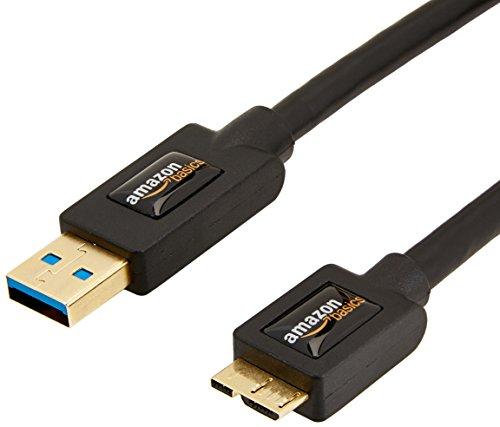 AmazonBasics - Cavo USB 3.0 A maschio / Micro B (0,9 m)