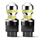 AUXITO 2600 Lumens 3157 LED Bulbs Backup Light Bulb 3156 3056 3057 4157 3047 4057 3457 LED Light Bulbs for Reverse Blinker Brake Tail Lights 6000K White
