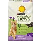 Purina Yesterday's News Non Clumping Paper Cat Litter, Softer Texture Unscented Cat Litter - 13.2 lb. Bag