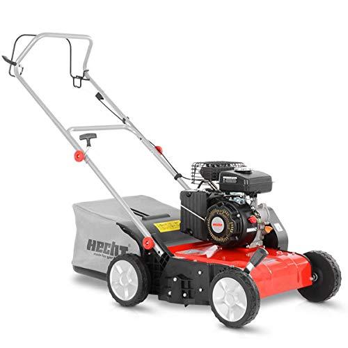 HECHT Vertikutierer Benzin (1,8 kW / 2,45 PS) – 38cm...