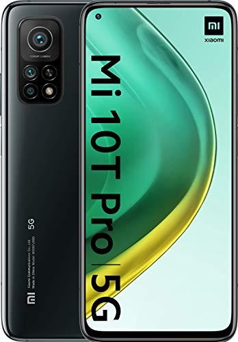 Xiaomi Mi 10T Pro - Smartphone, 8 GB + 128 GB, Dual Sim, Alexa Hands-Free, Nero (Cosmic Black)