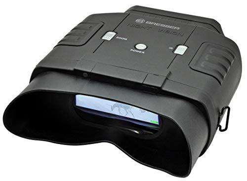 Bresser Visore notturno digitale binoculare 3x20, Ingrandimento: 3x (6x con lo zoom digitale)