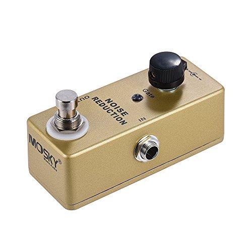 Bedler MP-40 Noise Gate Noise Reduction Suppressor Mini Single Guitar Effect Pedal True Bypass Gold Color