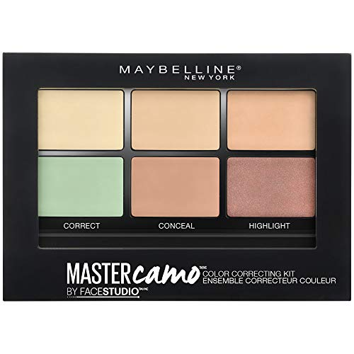 Maybelline New York Master Camo, Kit Corrector Imperfecciones, Tono 01 Light