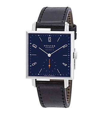 Nomos Tetra Neomatik Automatic Midnight Blue Dial Watch 422