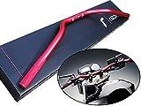 バイク 高品質 CNC アルミ製 rizoma リゾマ ハンドルバー 赤 22.2mm 7/8 DT200/WR DT250/R XT250/T WR250/R セロー225 セロー250 TZ250F TT250R TT-R250 トリッカー レイド ランツァ TW200E TW225E