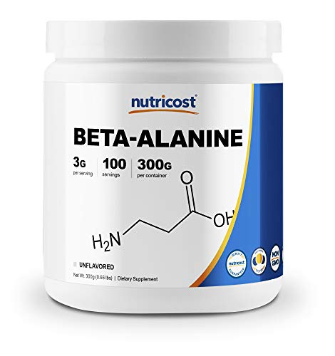 Nutricost Beta Alanine Powder 300 Grams