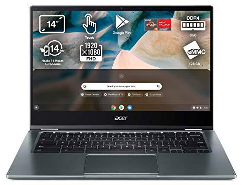 Acer Chromebook Spin 514 - Ordenador Portátil 2 en 1 Convertible...