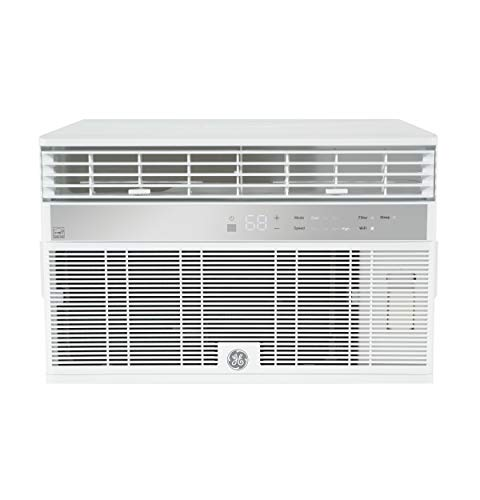 GE AHY10LZ Smart Window Air Conditioner with 10,000 BTU Cooling...