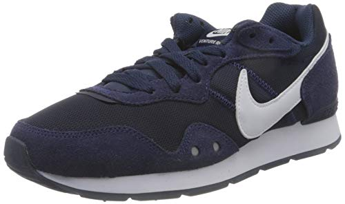 Nike Venture Runner, Zapatillas Hombre, Azul (Midnight Navy/Midnight Navy/White), 45 EU