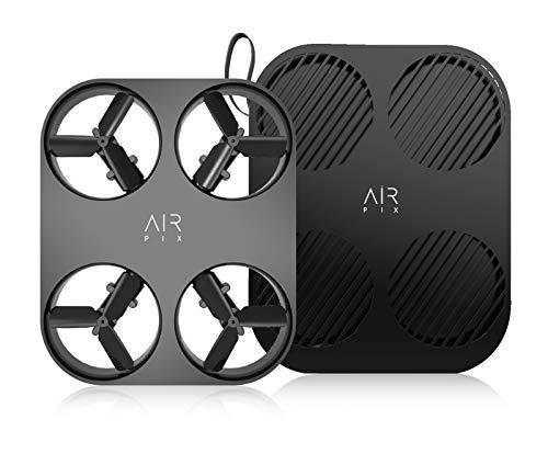 AirSelfie AIR PIX - Telecamera aerea tascabile ultra leggera per uso personale, per foto da 12 MP, video 1080p HD 30 fps, con tecnologia AutoFly - tecnologia AI Controller Free
