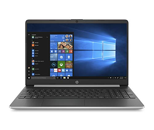"HP 15s-fq1021ns  -Ordenador Portátil 15.6"" HD (InteL Core i5-1035G1, 8GB RAM, 512GB SSD, Intel Graphics, Windows 10), Color Plata - Teclado QWERTY Español"