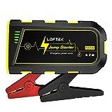 LOFTEK Portable Car Battery Jump Starter (Up to 7.0L Gas or 5.5L Diesel Engine), 12V Power Pack Auto Battery...